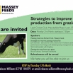 Strategies to improve production from grazing