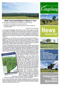 Kingshay Summer Newsletter